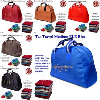 Tas Travel Kulit ELE Medium