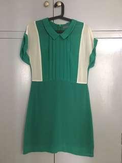 Maldita Green Sheer Dress (Small)