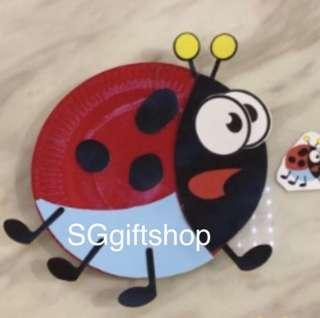 Art and craft (lady bird) - children birthday games, goodie bags gift