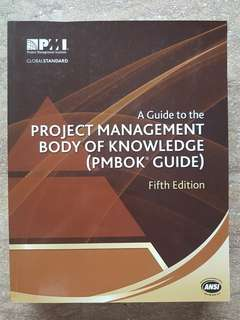 PMBOK - A Guide to the Project Management Body of Knowledge 5th Edition