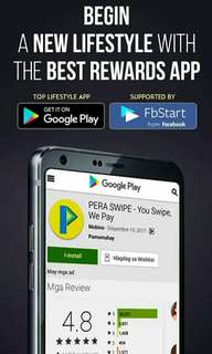 Get FREE 555 points in PERA SWIPE when you sign up!