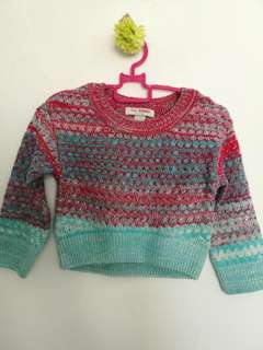 Poney Knitted Crop Top size XXS