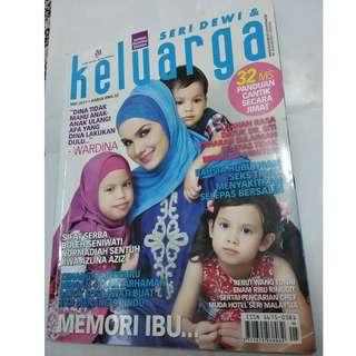 Majalah Keluarga Mei 2011 - cover Wardina