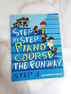 Step by step piano course the fun way