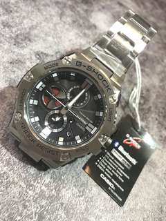 G-shock GST-B100D-1A 太陽能 Bluetooth®不銹鋼錶帶