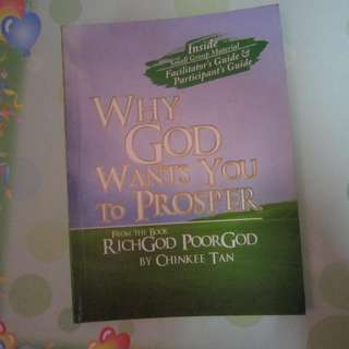 Why God Wants You To Prosper signed by Chinky Tan