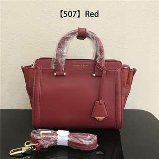 AUTHENTIC CHARLES & KEITH TRAPEZ SATCHEL