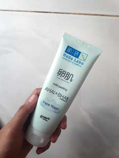 Hadalabo AHA + BHA / Hadalabo Perfect X Simple Mild Peeling Face wash