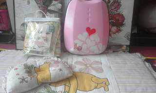 Combo jimat!Tilam pooh,Head support New,Cover bag simple dimple New