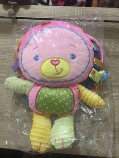 🚚 Happy monkey 小兔子安撫玩具