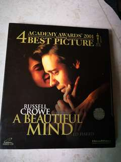 Video CD 💿 Russell Crowe A Beautiful Mind