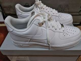 Nike Air Force 1 '07 White Original Authentic Size 42.5