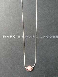 純銀淡粉紅頸鏈