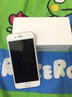 Dijual iphone 6 16gb mati karena jatoh