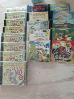 Educational & songs VCDs