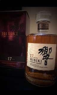 機會難逢!全新停產日本威士忌,響17,優惠價六枝$23000!