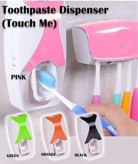 Toothpaste touchme dispenser