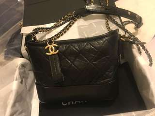 chanel gabrielle 流浪包 small size