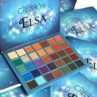 *Beauty Creations Elsa Eyeshadow palette*