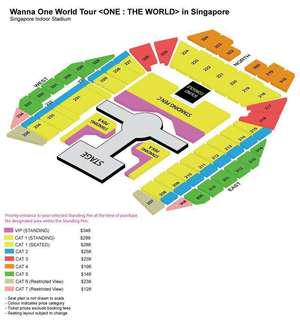 [URGENTLY WTS] 2 Wanna One World Tour Tickets