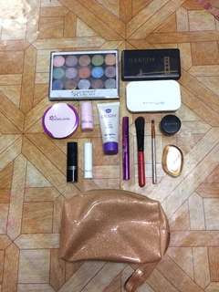 take all make up with free pouch
