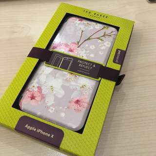 New and Sealed Casing Iphone X Ted Baker Original