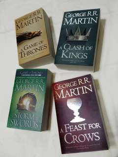🚚 Game Of Thrones (A Song of Ice and Fire #1-4) - George R.R. Martin