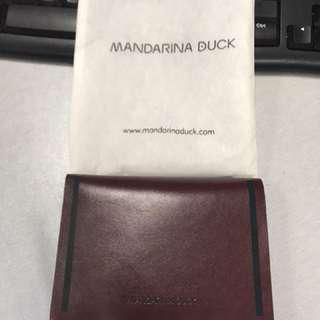 Mandarina duck wallet -Maroon