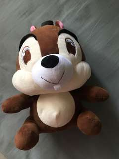 Cute chipmunk plush toy