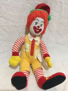 Vintage mcdonulds stuff toy