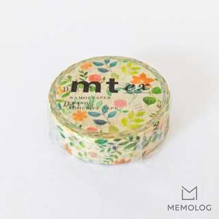 MT ex Watercolor Flower Masking Tape / Washi Tape