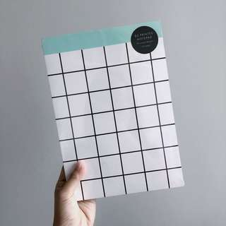 KIKKI K. B5 Printed Notepad (120 pages, 20 designs)