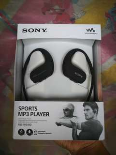 Sony NW-WS413 waterproof swimming fast charging sports 4gb mp3 player