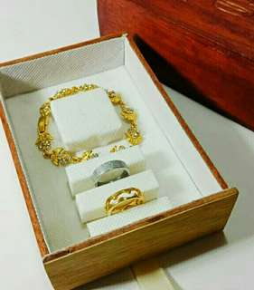 Ring box kayu (slop)
