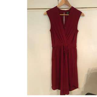 Dotti Red Mid Length Dress