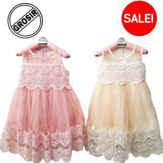 Baju Dress Pesta Anak Perempuan Trendy