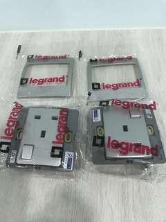 BN Legrand Power Socket Switch