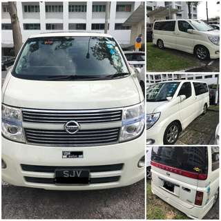 Nissan Elgrand 2.5 Auto Highway Star 8-Seater
