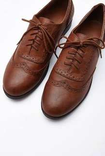 Forever 21 Leather Brogues