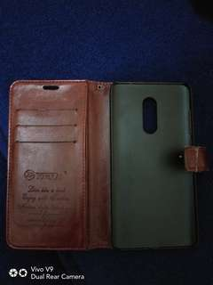 Leather case xiaomi note 4 second import