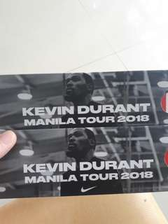 KEVIN DURANT in Manila GA tickets