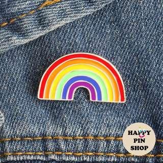 [IN STOCK] Rainbow Enamel Pin
