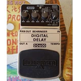 Behringer Digital Delay DD600