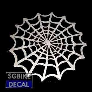Spiderweb Reflective Decal