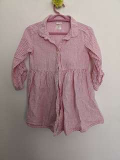 H&M Blouse size 12 - 18 months - 2 pieces for RM30
