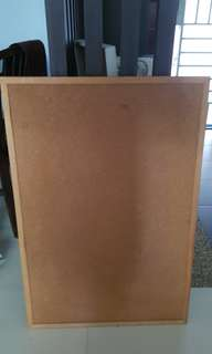 Corkboards- both sides are corkboards