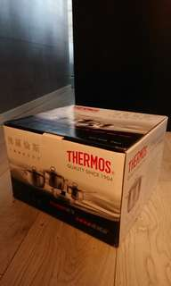 Thermos KCC-W24L 24cm 不鏽鋼雙耳煲