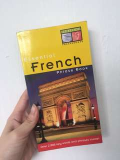 Essential french phrase book