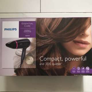 🚚 Philips Hair Dryer Essential Care