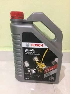 Bosch 5W40 Premium X7 Fully Synthetic Engine Oil
